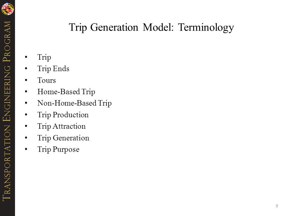 Activity Generation-Allocation Models 40