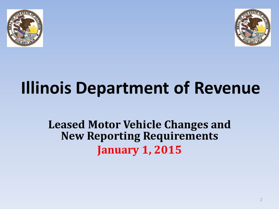 Leased Motor Vehicle Changes 3 Public Act 98-628 amends the Retailers' Occupation Tax Act and the Use Tax Act to provide for an alternate method of determining the selling price subject to sales and use taxes for certain motor vehicles sold for the purpose of being leased.