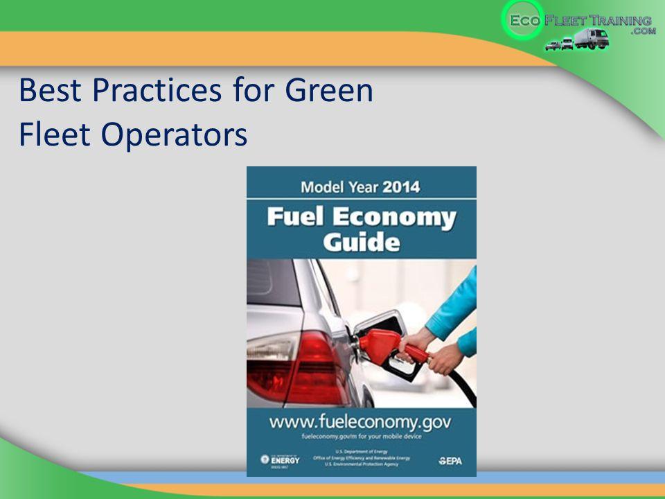 Best Practices for Green Fleet Operators