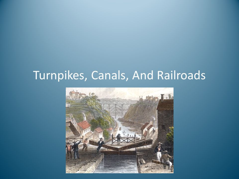 The Railroad Story The advantage shifted to railroads beginning in 1830.
