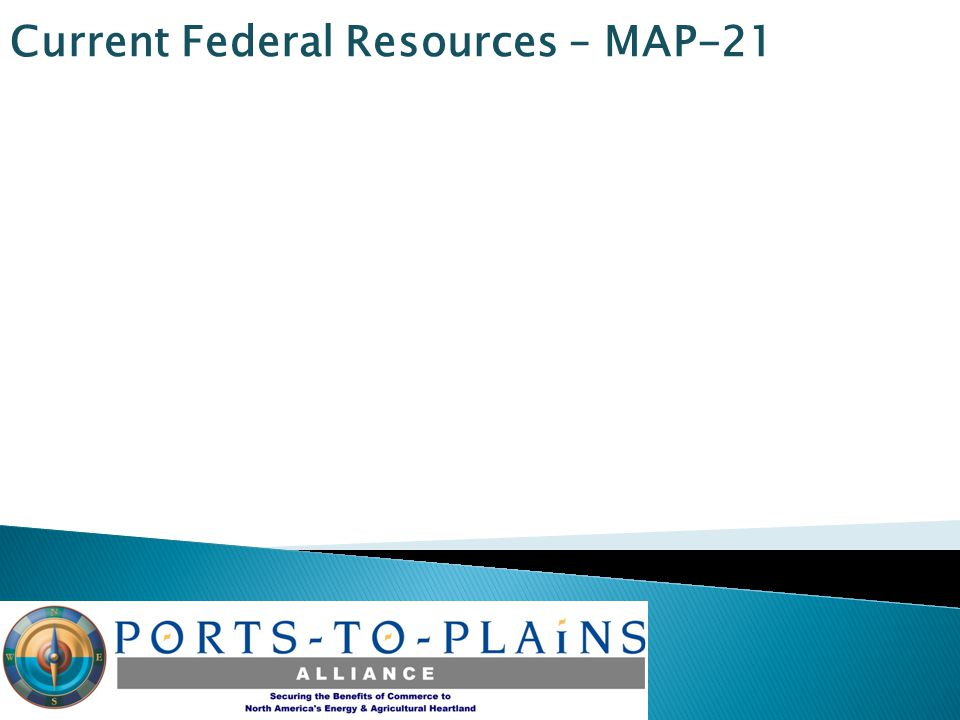 Current Federal Resources – MAP-21