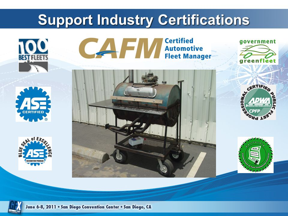 Support Industry Certifications