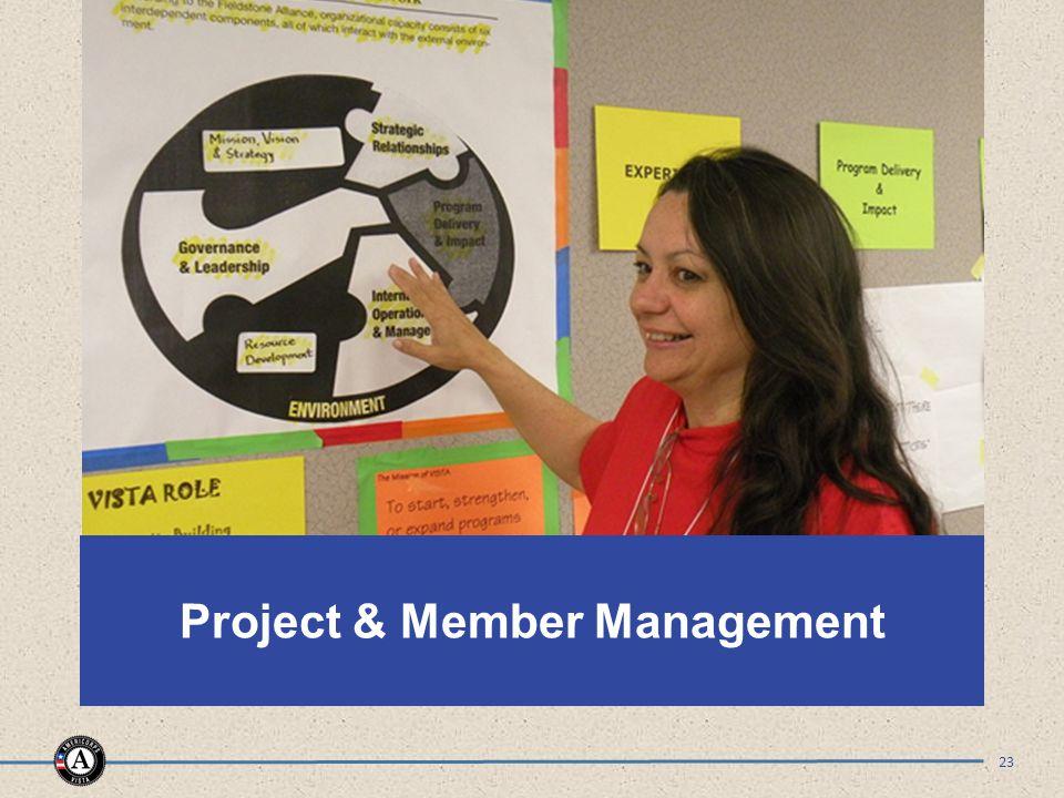 Project & Member Management 23