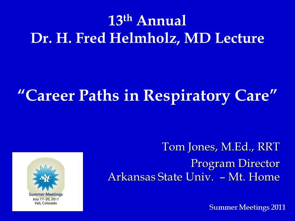 13 th Annual Dr. H.