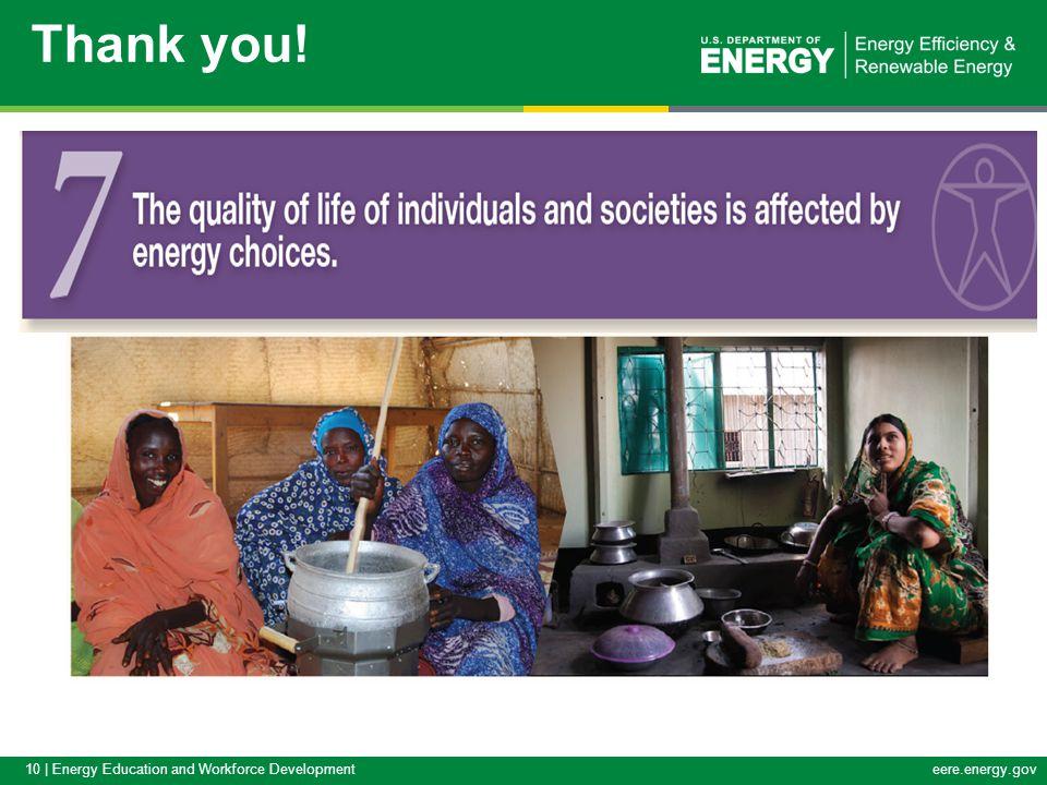 10 | Energy Education and Workforce Developmenteere.energy.gov Thank you!