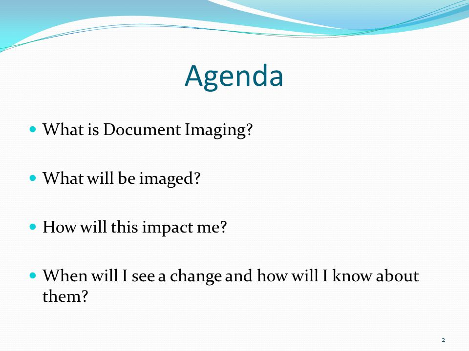 What is document imaging.