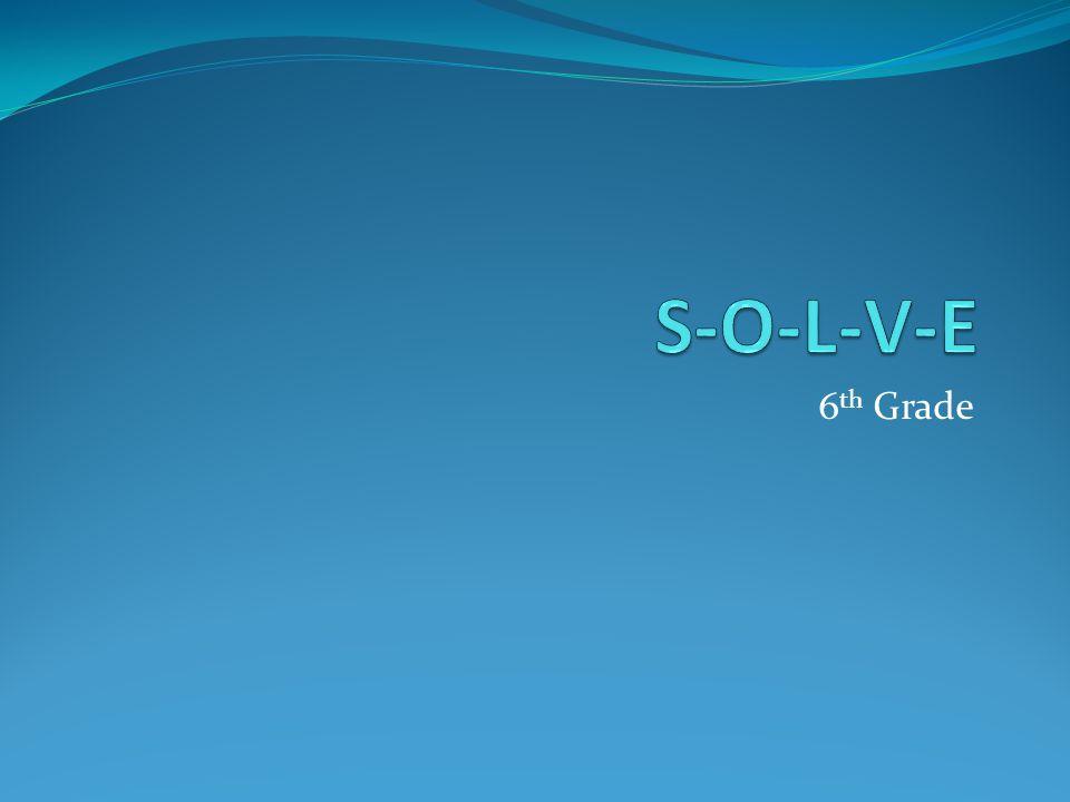 6 th Grade