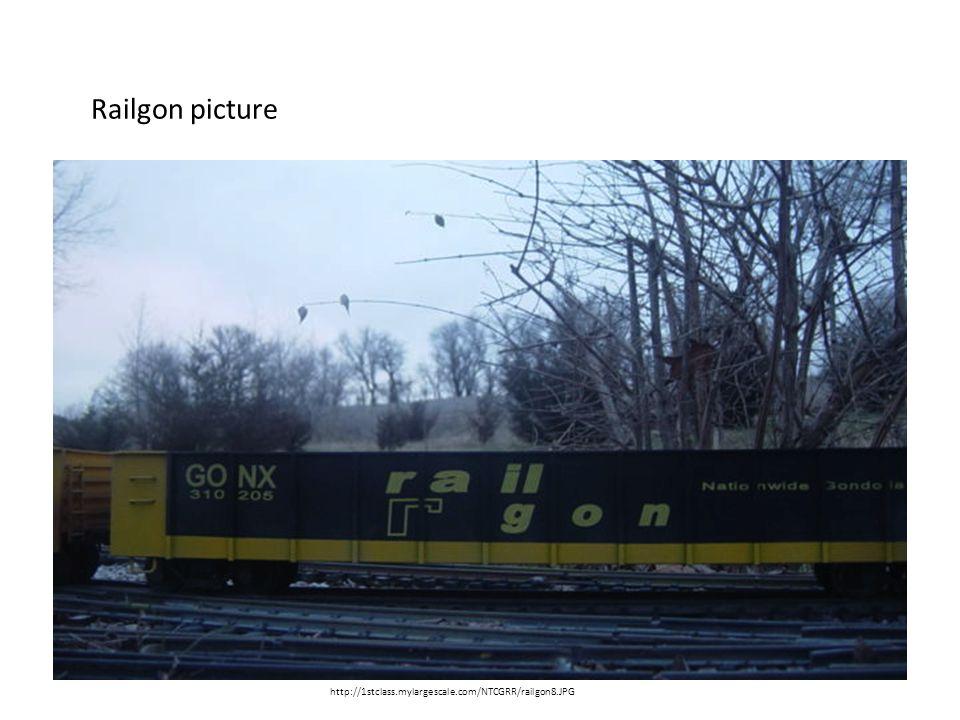 Railgon picture http://1stclass.mylargescale.com/NTCGRR/railgon8.JPG