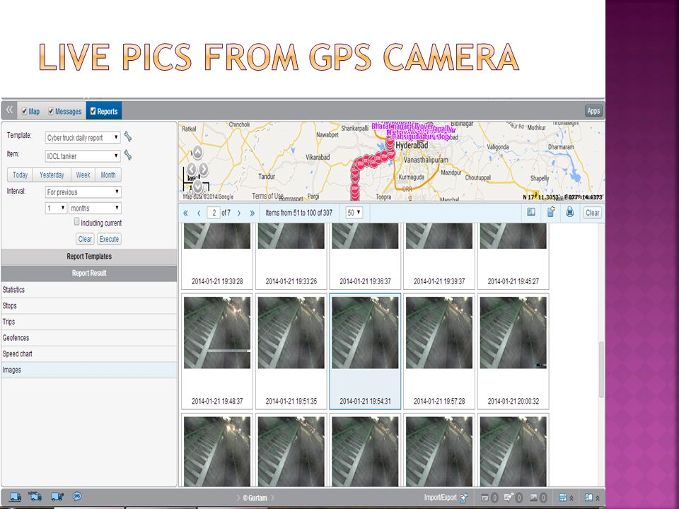  Track the location of the school buses through a web-interface & Mobile.