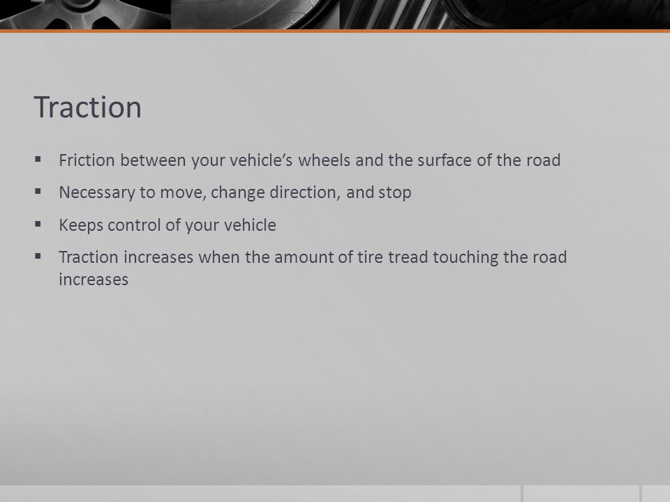 Reaction distance + Braking distance =  Stopping distance  Total distance required to stop from the first time you recognize the need to brake to the time the vehicle is no longer moving  SPEED is the most important factor The faster you go, the longer it takes to stop