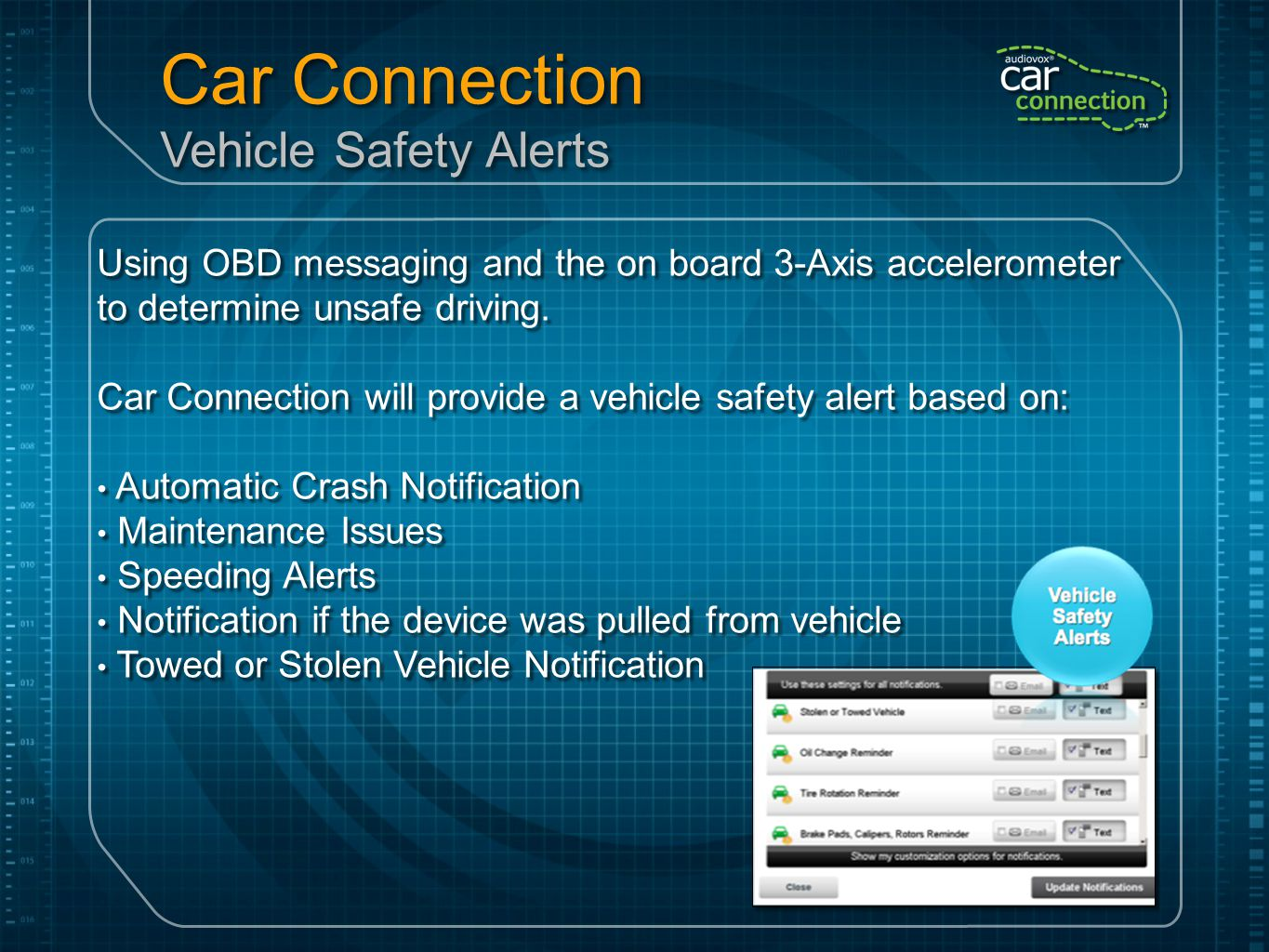 Car Connection Consumer Application