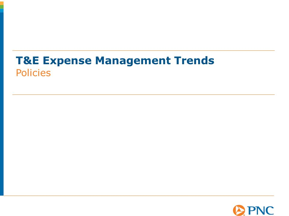 T&E Expense Management Trends Policies