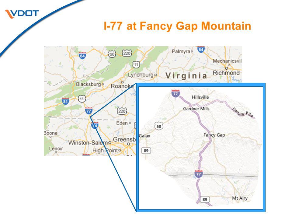 I-77 at Fancy Gap Mountain