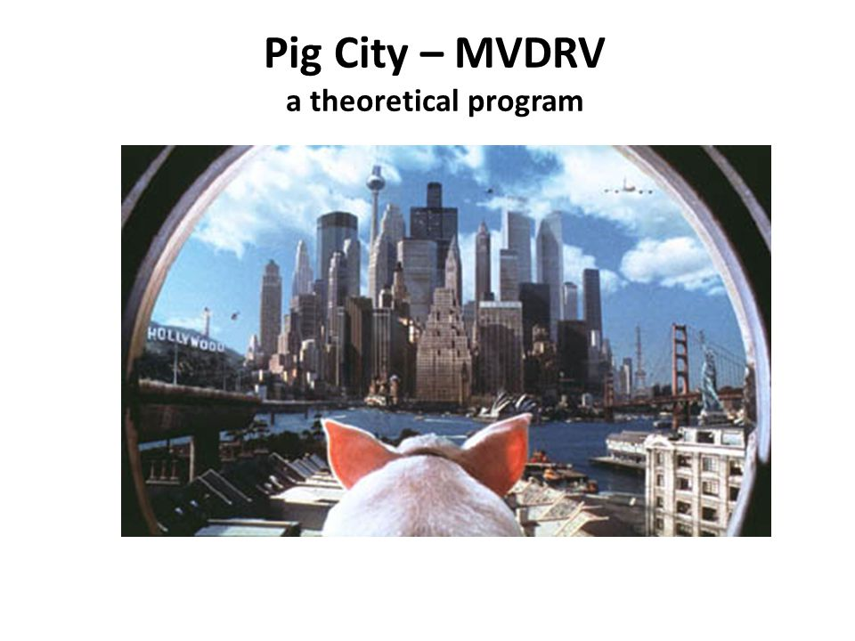 Pig City – MVDRV a theoretical program