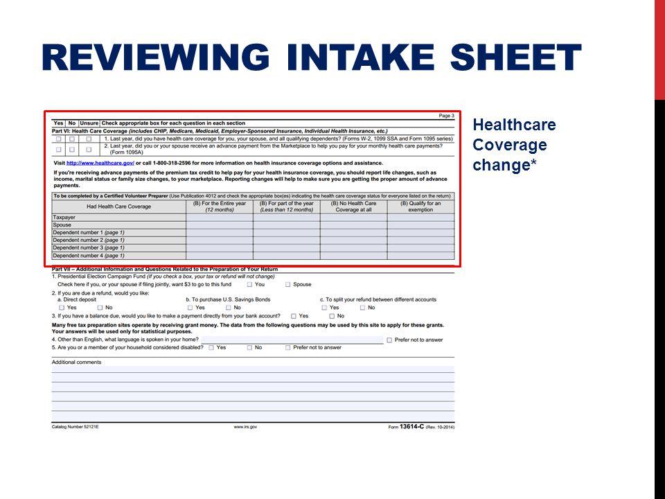 Healthcare Coverage change*