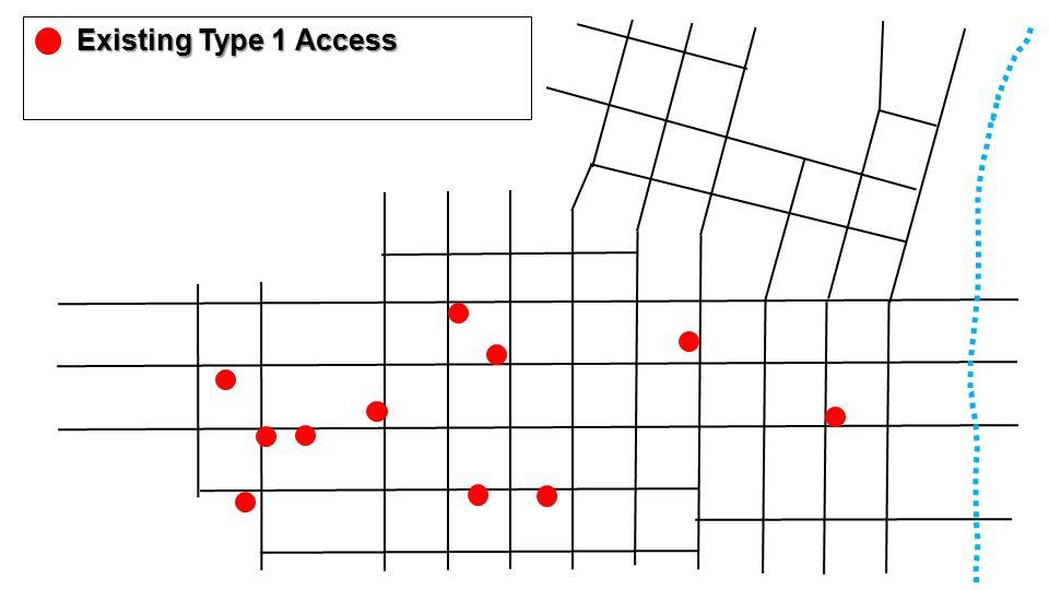 Existing Type 1 Access Existing Type 1 Access