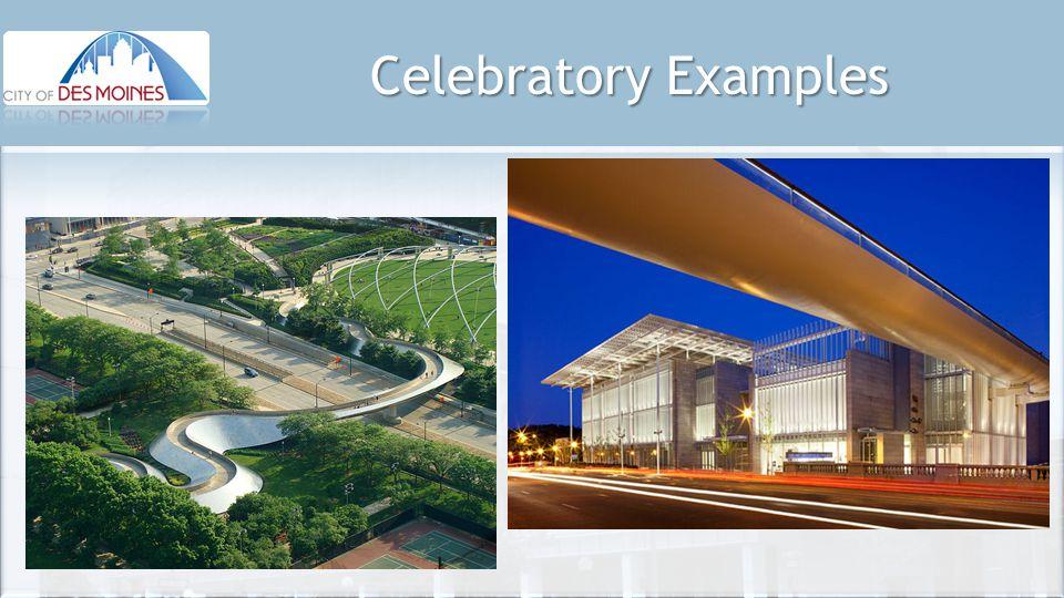 Celebratory Examples