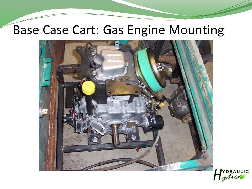 Base Case Cart: Gas Engine Mounting