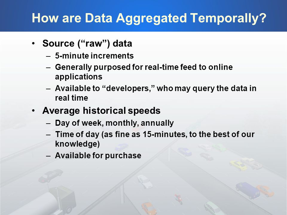 How are Data Aggregated Temporally.