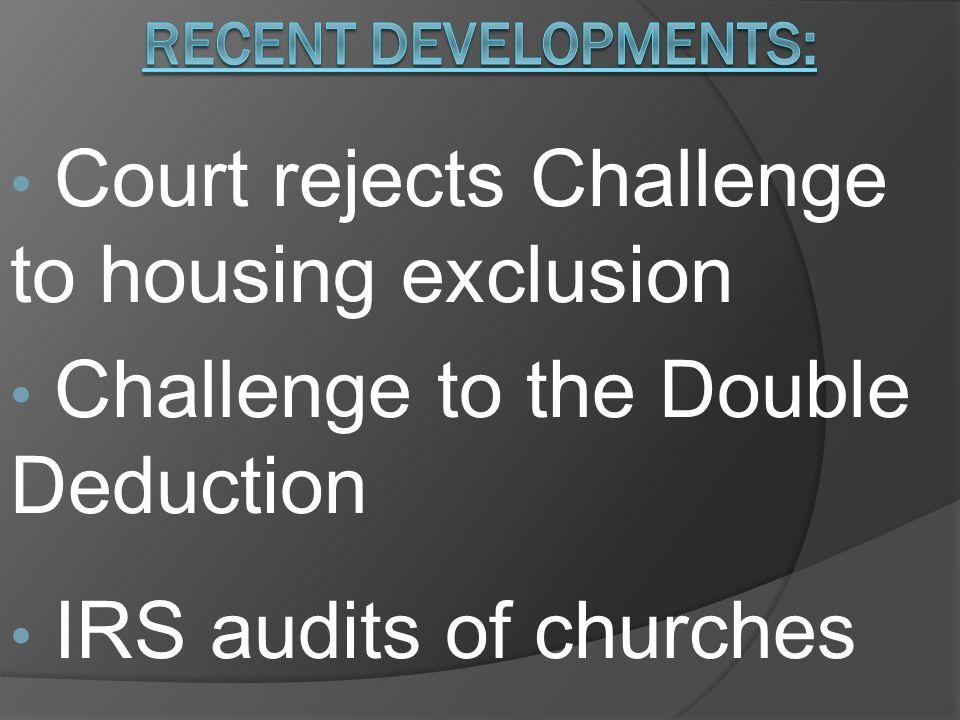 Designating a housing allowance: 1.Clergy estimates housing-related expenses.