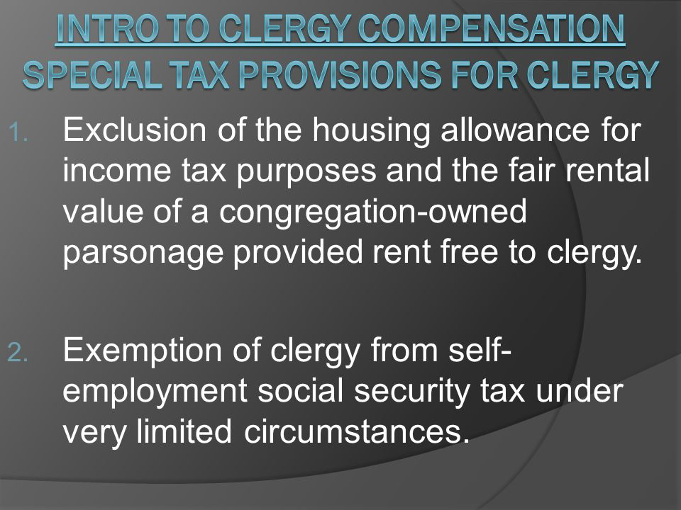 Housing Allowance Rules: 3.Only actual expenses can be excluded from income.