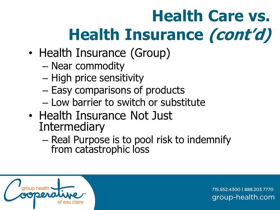 Health Care vs.