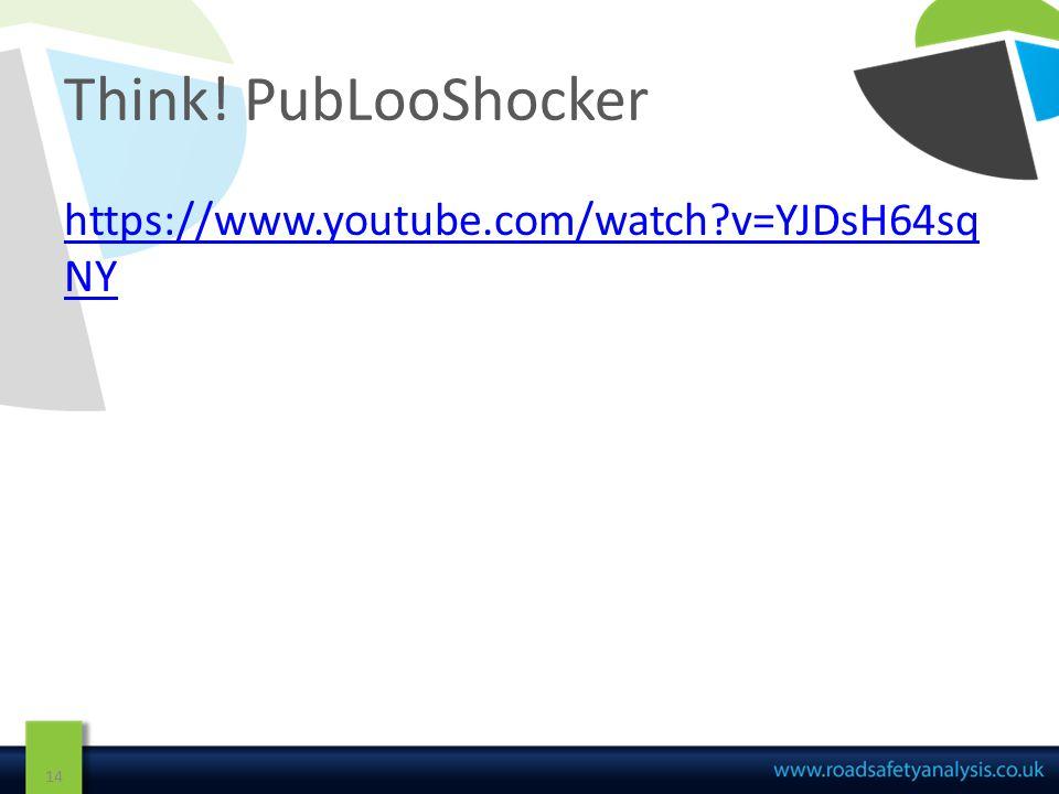 Think! PubLooShocker 14 https://www.youtube.com/watch v=YJDsH64sq NY