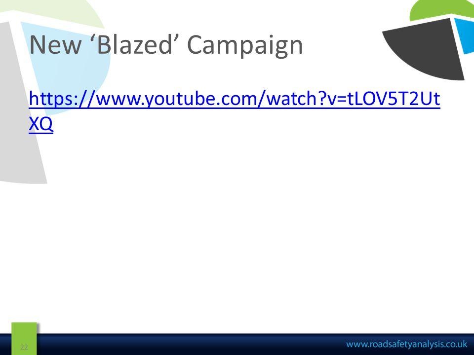 New 'Blazed' Campaign 22 https://www.youtube.com/watch v=tLOV5T2Ut XQ