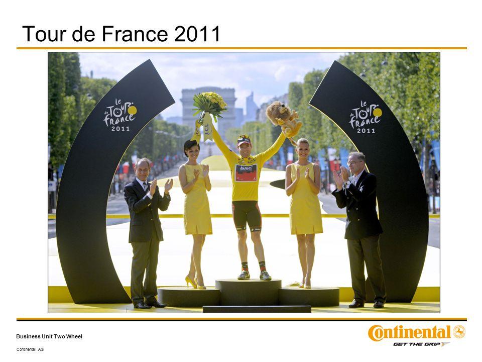 Continental AG Business Unit Two Wheel Tour de France 2011