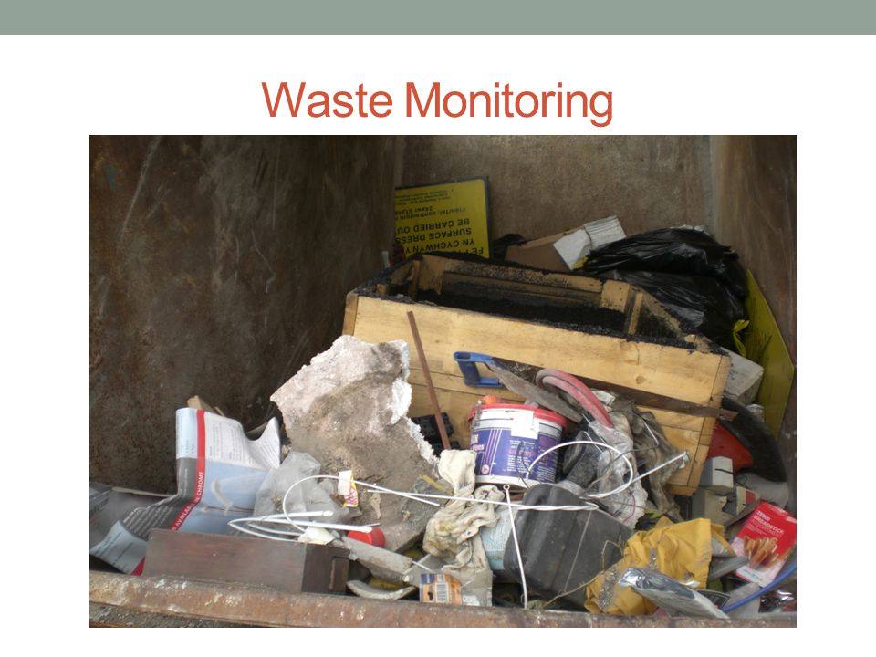 Waste Monitoring
