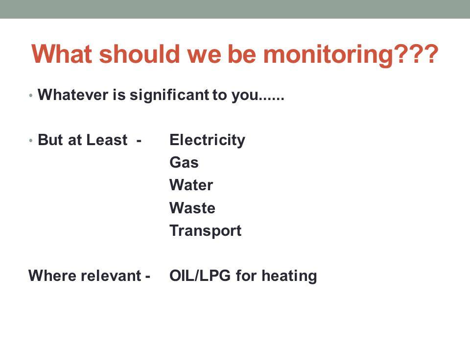 Waste Monitoring