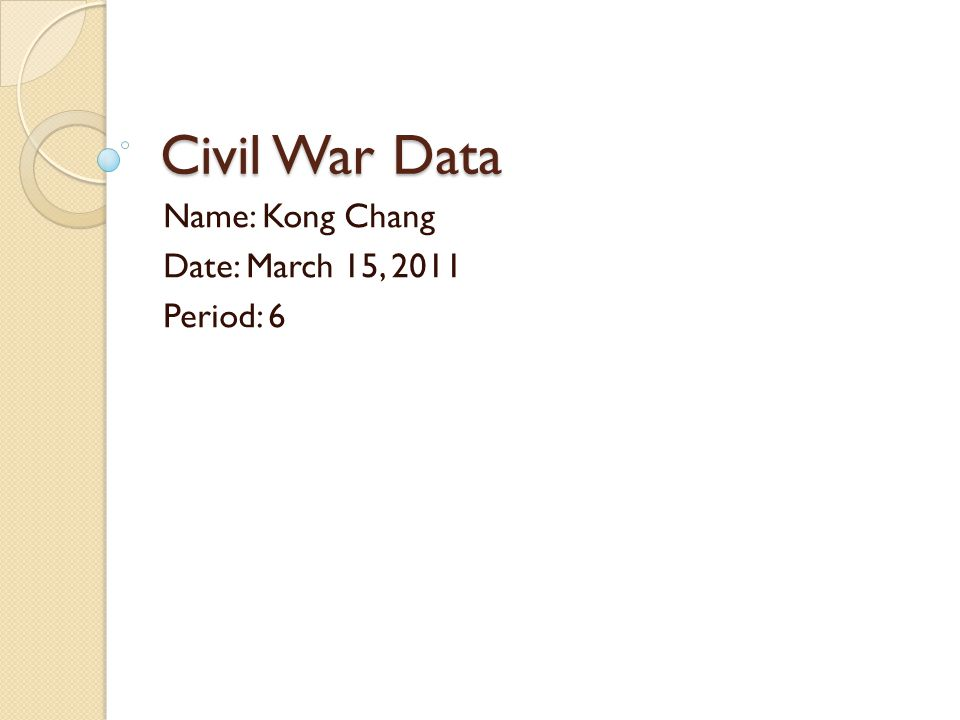 Causes Of The Civil War In November 1860 Abraham Lincoln was elected President of the United States.