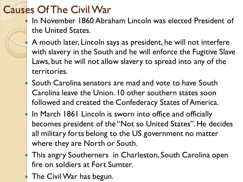 Effects of the Civil War 1) Almost 620,000 Americans lost their lives during the four years of fighting.