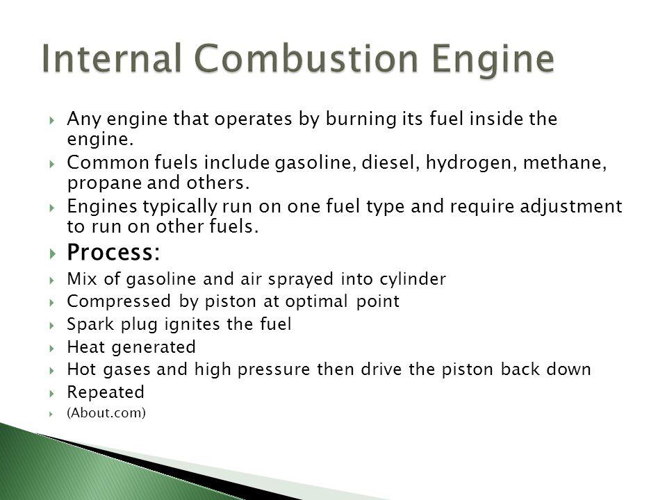  1860 Ottocycle First prototype engine ran on straight ethanol.
