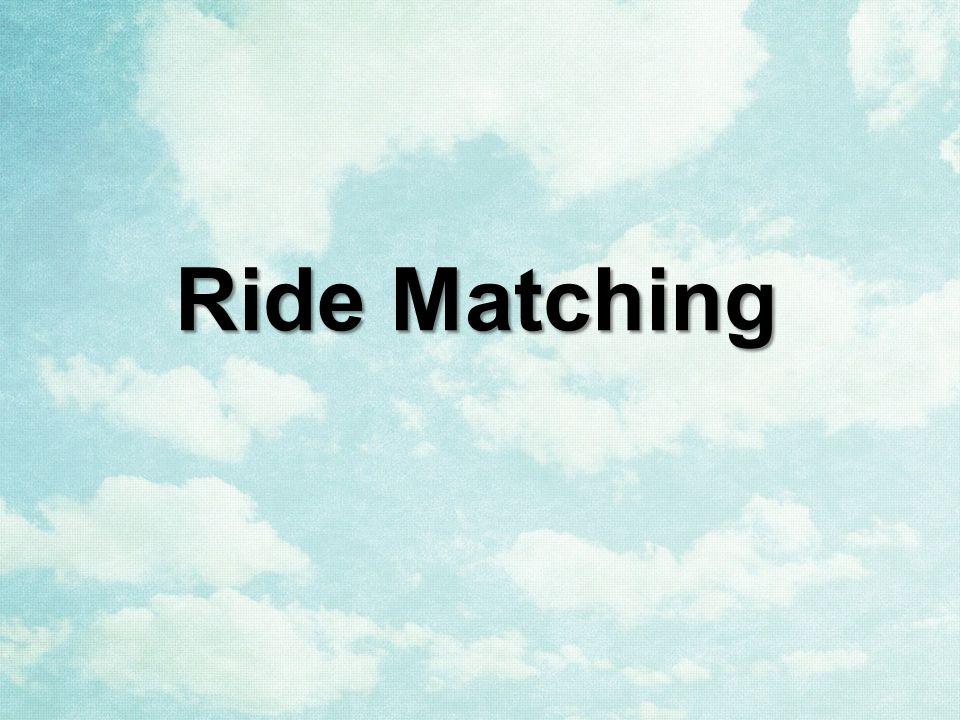 Ride Matching
