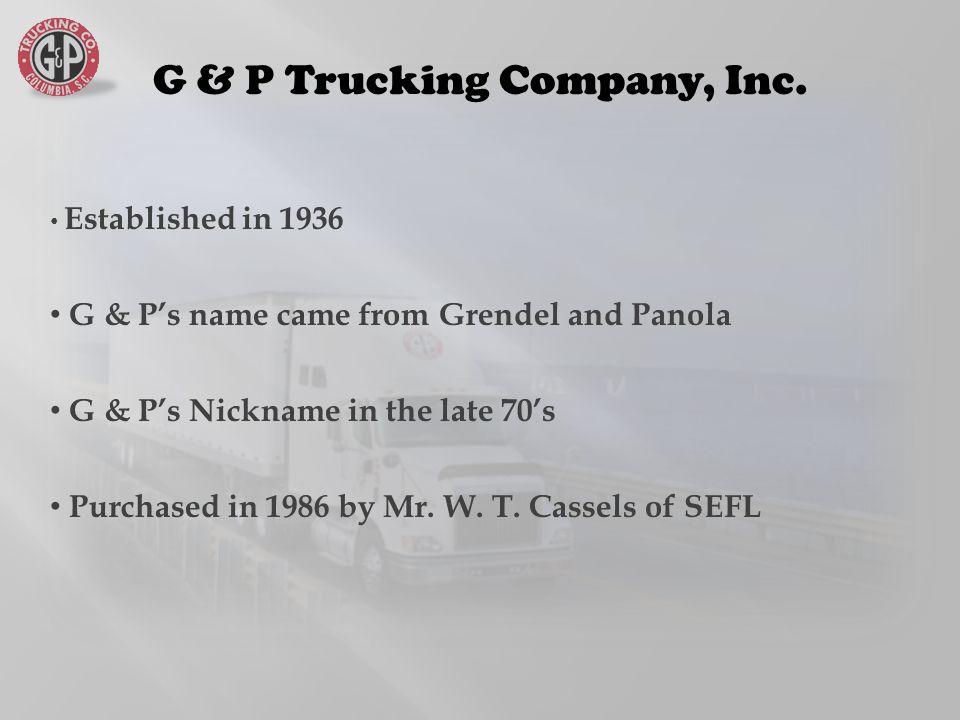 G & P Trucking Company, Inc.