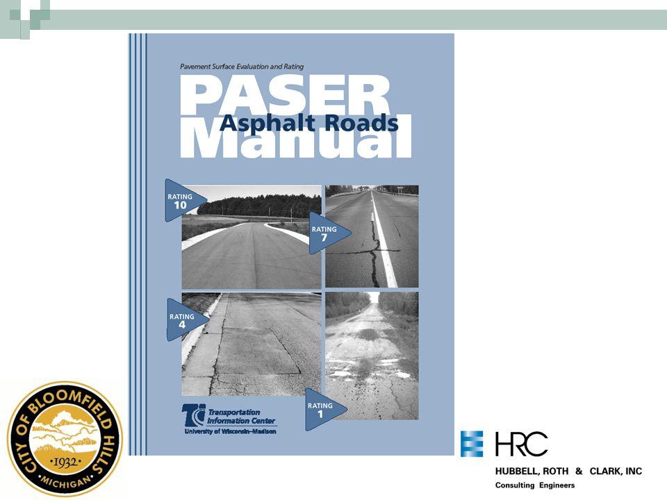 Pavement Deterioration Curve 1 PASER Rating 10