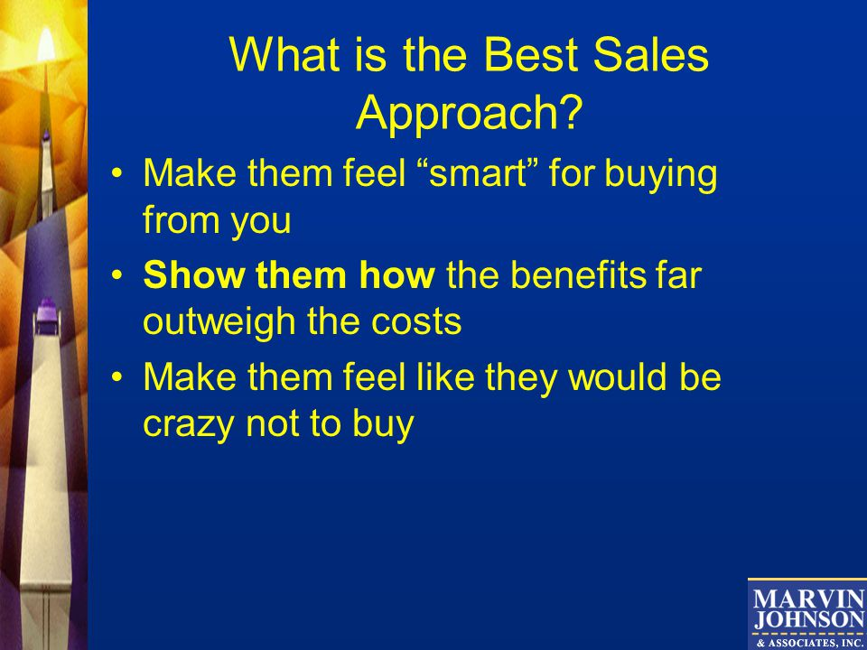 What is the Best Sales Approach.