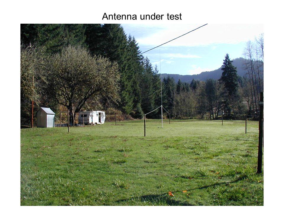 Antenna under test