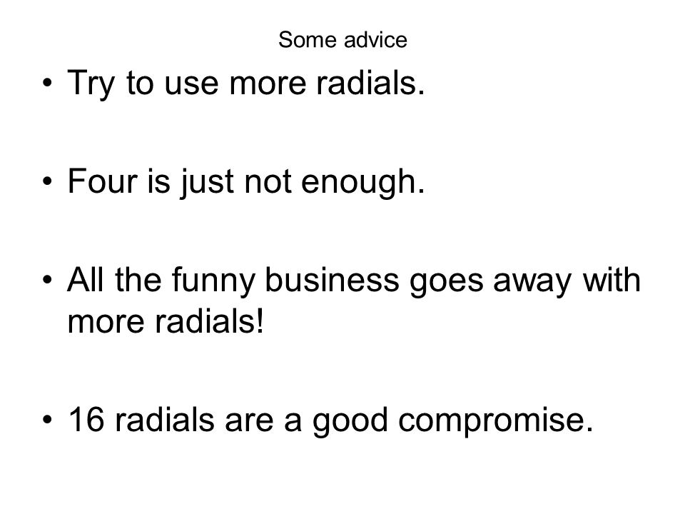 Some advice Try to use more radials. Four is just not enough. All the funny business goes away with more radials! 16 radials are a good compromise.