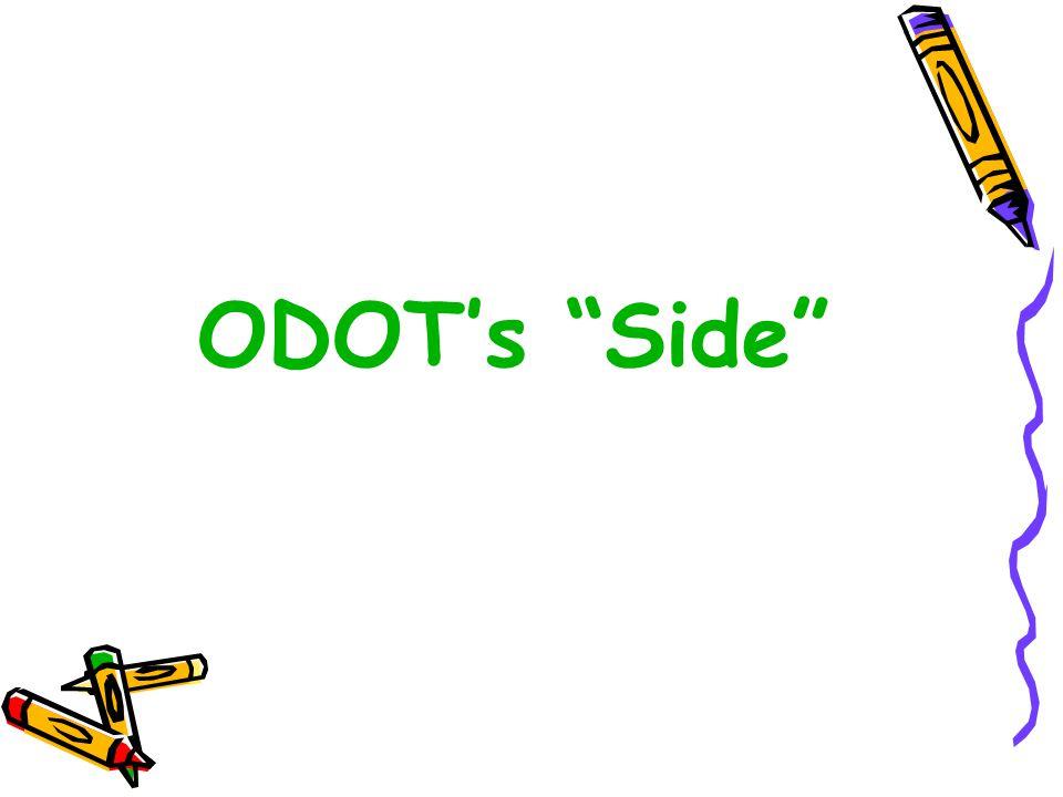 ODOT's Side