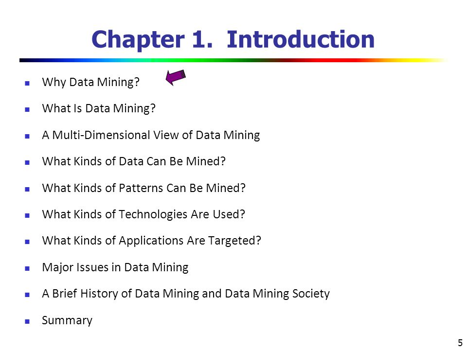 6 Why Data Mining.