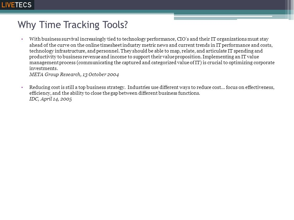 Why Time Tracking Tools.
