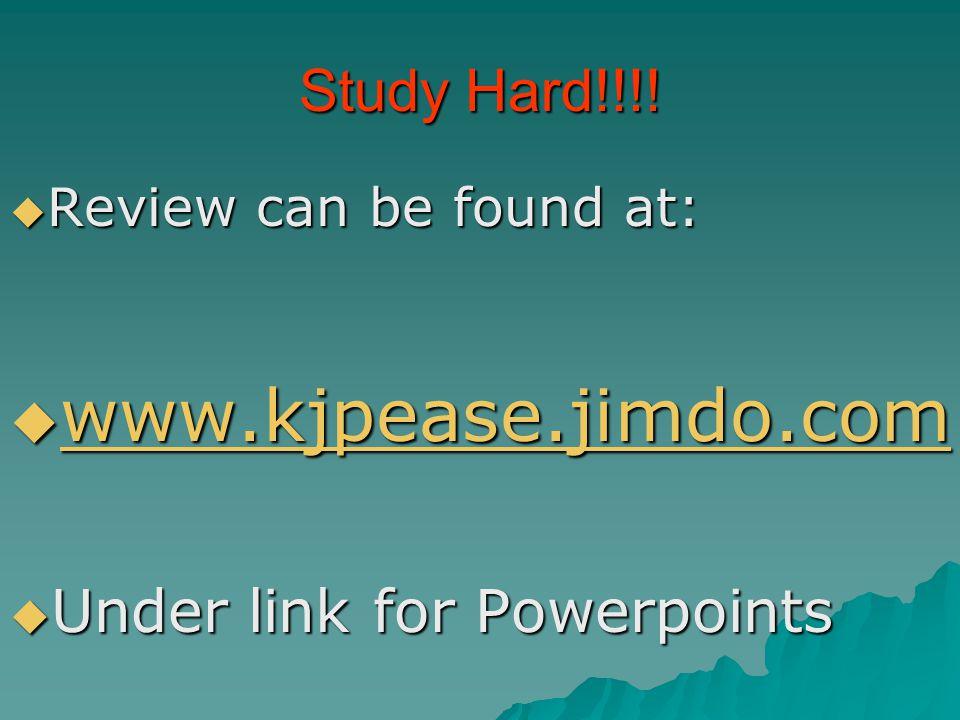 Study Hard!!!.