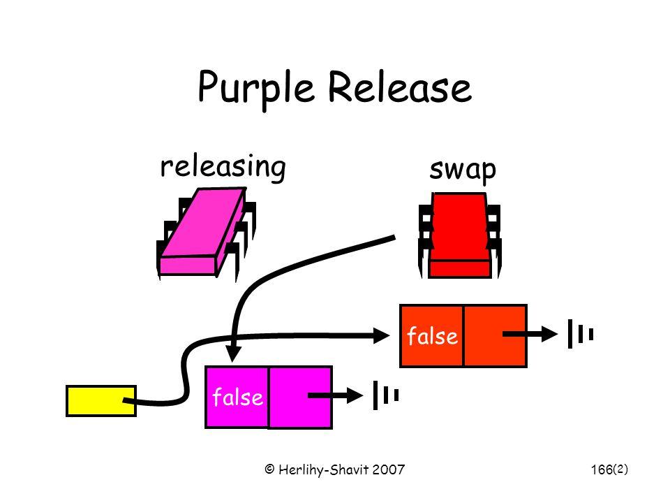 © Herlihy-Shavit 2007166 Purple Release false releasing swap false (2)