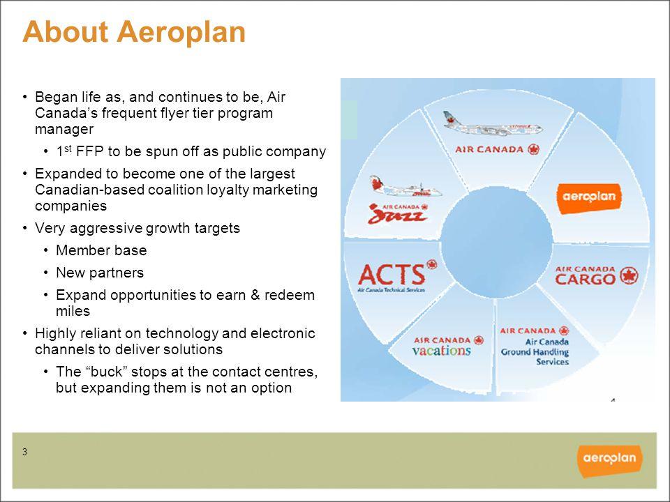 4 Aeroplan members - snapshot 5 million+ members 50,000 new mbrs / mo.