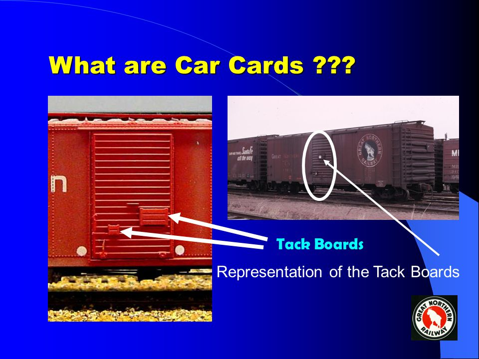 Operations using Car Cards & Waybills