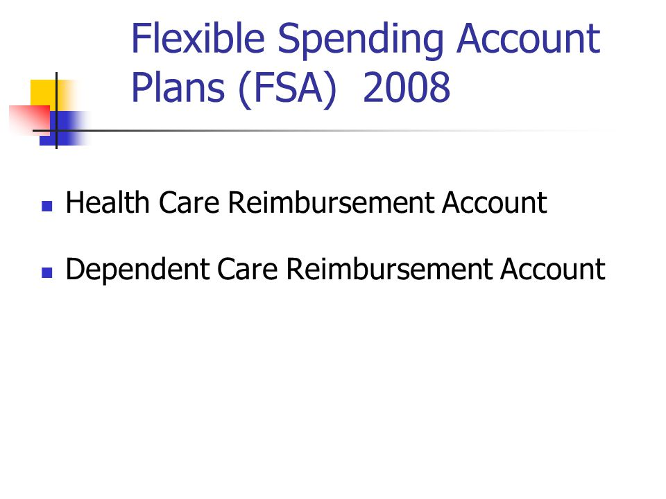 Reimbursement Accounts No Federal, State or FICA Tax Results in 25 to 30% savings on Expenses Funded Through Payroll Deduction Hudson City School District pays for the administration costs