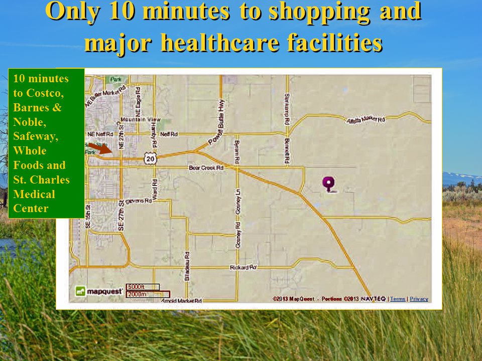 Only 10 minutes to shopping and major healthcare facilities 10 minutes to Costco, Barnes & Noble, Safeway, Whole Foods and St. Charles Medical Center