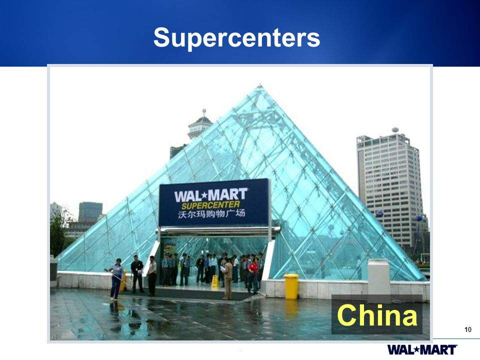 10. Supercenters China